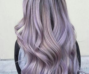 hair, pastel, and beauty image