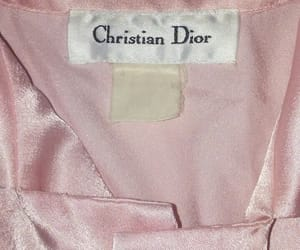 pink and Christian Dior image