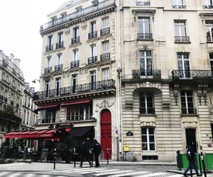 city, france, and street image