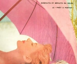 60s, magazine, and pink image