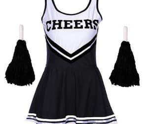 cheer, cheerleader, and dress image