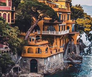 house, travel, and italy image