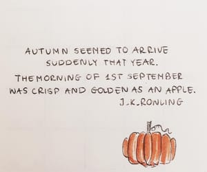 pumpkin, autumn, and quotes image