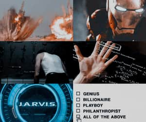 Avengers, Collage, and iron man image