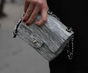 chanel bag, fashion, and street style image
