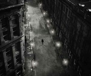 alone and street image