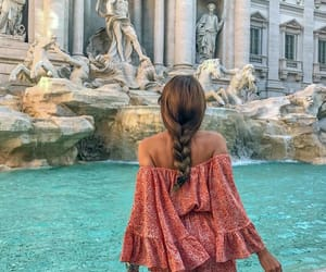travel, braid, and fashion image