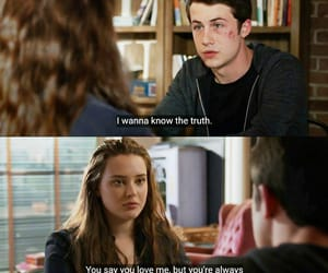 clay, hannah, and 13 reasons why image