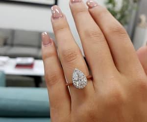 bride, diamonds, and rings image