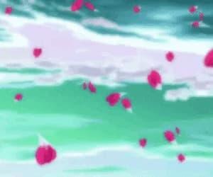 anime, gif, and manga image