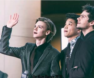ki hong lee, dylan o'brien, and thomas brodie-sangster image