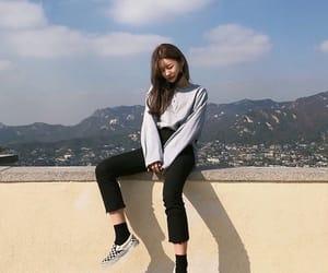 asian and korean girl image