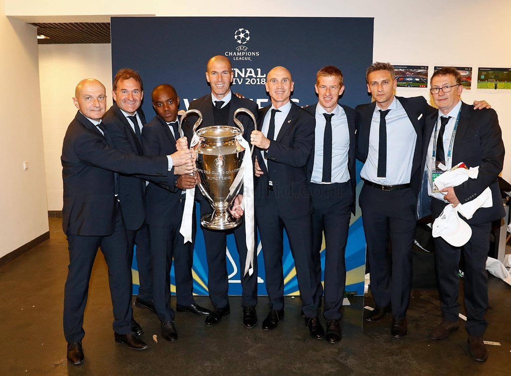 real madrid, mister, and coaching staff image