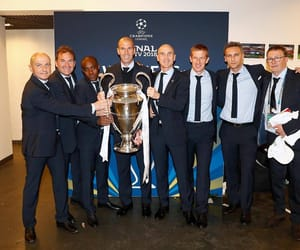 mister, real madrid, and coaching staff image