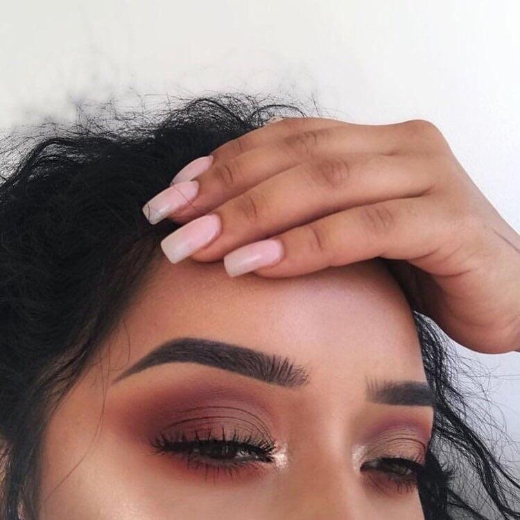 makeup, nails, and girl image