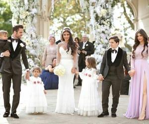 Barcelona, bride, and children image