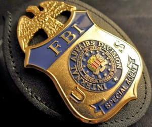 fbi, special agent, and fbi badge image