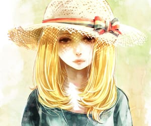 anime girl, Sunny, and last summer image