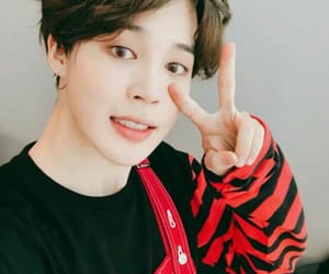 bts, jimin, and parkjimin image