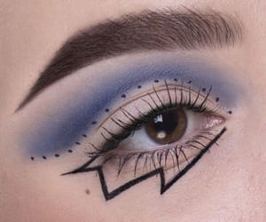 art, makeup, and pretty image