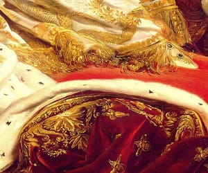 red, gold, and royal image