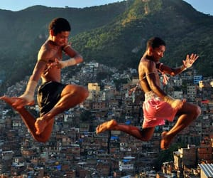 arte, brazil, and favela image