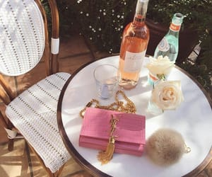 pink, rose, and YSL image