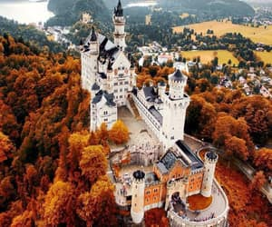 autumn, castle, and marble image