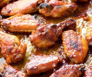 Chicken, food, and wings image