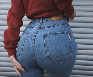 aesthetic, butt, and clothes image