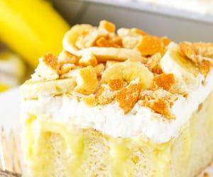 cake, sweet, and banana image