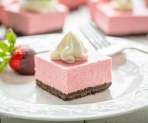bars, cheesecake, and dessert image