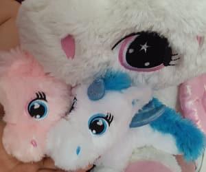 unicorns, pink, and ponies image