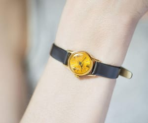 etsy, montre femme, and roman numerals watch image