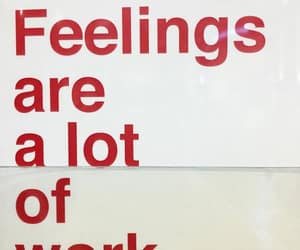 quotes, feelings, and red image