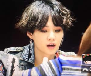 fansign, bts, and suga image