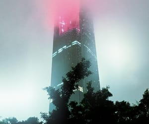 pink and skyscraper image