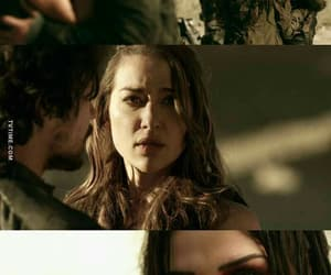 clarke, the 100, and bellamy image