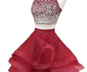 rojo, 15 anos, and vestidos de xv image