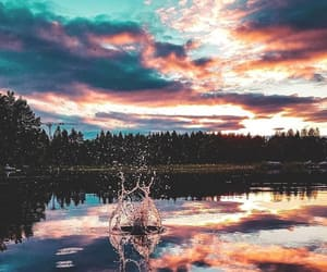 water, nature, and landscape image
