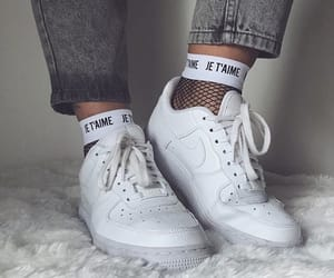 air force, chaussures, and je t'aime image