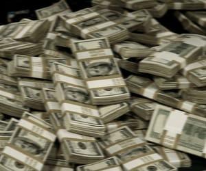 money, dollar, and luxury image