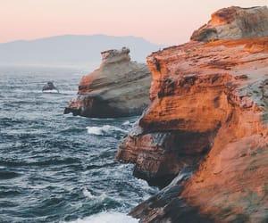 beach, nature, and ocean image