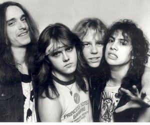 metallica, James Hetfield, and cliff burton image