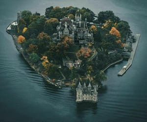 castle, lake, and paths image