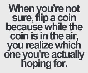 coin, hope, and quotes image