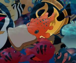 fish, disney, and lilo image