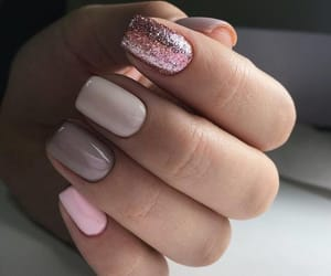 art, colors, and nails image