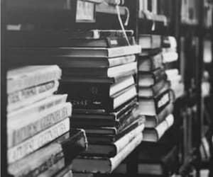 black, book, and white image
