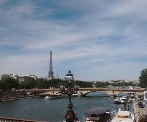 la tour eiffel, paris, and travel image